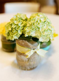 Austin Wedding by La Dolce Vita Photography + Posey Events and Design Rehearsal Dinner Decorations, Wedding Decorations, Wedding Rehearsal, Rehearsal Dinners, Just In Case, Just For You, Green Hydrangea, Hydrangeas, Flowers In Jars