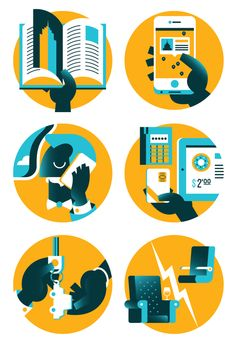 Editorial Illustration Vol.2 by Marco Goran Romano, via Behance