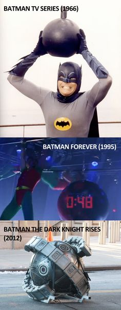 love the series since I was 8... u2 wrote the Batman Forever soundtrack... and the Dark Knight Rises is awesome because it's Batman