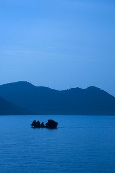 Morning lake, Khanpur, Pakistan. We used to go camping here when we were younger
