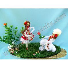 """Изгодно! Сувенирна мартеница """"Предложение"""" с намаление от 23,00 на 18,00 лв! Baba Marta, March, Traditional, Christmas Ornaments, Toys, Holiday Decor, Spring, Creative, Crafts"""