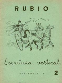 Cuadernillo Rubio. Escritura vertical
