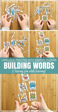 Malimo Mode: fun sorting puzzles for word building and basic language…