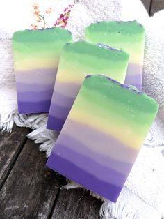 again some really gorgeous techniques for soaps