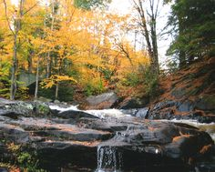 Cascading waters of Arrowhead Park, Huntsville, Ontario. One of many great places to enjoy the fall colours in Explorers' Edge Ontario Provincial Parks, Ontario Parks, Autumn Park, Park Photos, Adventure Is Out There, Camping Hacks, Nature Photos, The Great Outdoors, Places To See