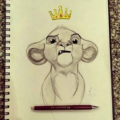 Cartoon drawings of animals, cute animal drawings, disney character drawing Disney Character Drawings, Cute Disney Drawings, Disney Sketches, Drawing Disney, Disney Pencil Drawings, Cute Drawings Tumblr, Character Art, Character Design, Cartoon Drawings Of Animals