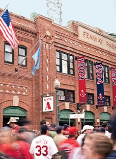 Boston - Fenway Park, home of the Red Sox!
