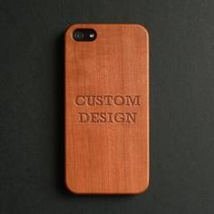 Unique iPhone 7 case from Decouart. Real wood engraved iPhone case made one at a time using our laser engrave technique Iphone 7 Plus, Iphone 7 Cases, Iphone 5s, Apple Watch Series 1, Apple Watch Bands, Apple Watch Models, Stainless Steel Bracelet, Custom Design, Typography