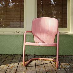 Antique Metal Childs Dolls Outdoor Rocking Chair Outdoor