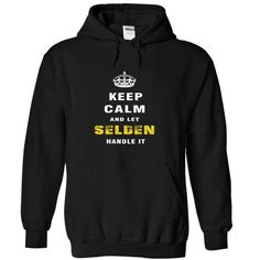 Keep Calm and Let SELDEN Handle It - #gifts for guys #man gift. GET YOURS => https://www.sunfrog.com/Christmas/Keep-Calm-and-Let-SELDEN-Handle-It-sygch-Black-Hoodie.html?68278
