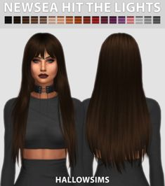 4 CC's - The Best: Newsea Hit the Lights by HallowSimsSims 4 CC's - The Best: Newsea Hit the Lights by HallowSims Butterflysims 145 Hair Conversion for The Sims 4 The Sims Resource's Briana Hair by Anto - Long hairstyles ~ Sims 4 Hairs Hair Lights, Light Hair, Sims 4 Game Mods, Sims Mods, Sims 4 Cas, Sims Cc, Sims 4 Black Hair, The Sims 4 Cabelos, Pelo Sims