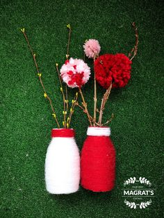 Baba Marta, Beginning Of Spring, Small Bottles, Mom Day, Red And White, 8 Martie, March, Proposals, Traditional