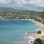 This is an affordable option in Grenada...Flamboyant hotel view!!