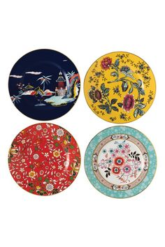 Take a journey around the world with the Wonderlust collection: an eclectic mix of treasured gifts, all inspired by the wonders of traveling from Europe through… Credit Card Images, China Wall, Candles For Sale, Flower Bowl, China Patterns, Vintage Walls, Hanging Art, Wedgwood, Plate Sets