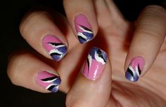 Easy to Do Nail Art For Short Nails