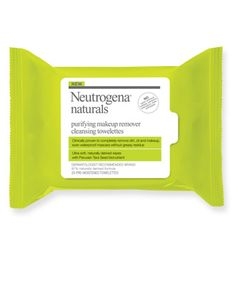 Neutrogena® Naturals Purifying Makeup Remover Cleansing Towelettes #WipeForWater