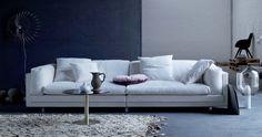 Tube Sofa by Eilersen, Denmark Outdoor Sofa, Outdoor Furniture, Outdoor Decor, Contemporary Furniture Stores, Denmark, Sofas, Love Seat, Cushions, Couch