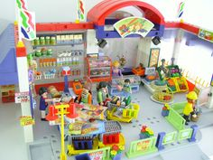Playmobil grocery store