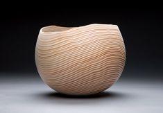 Strata Series #3 (2007) Douglas fir with sandblasted interior, Bill Luce