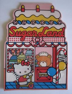 ada04a9f2499 Hello Kitty Vintage Sweets 💖 Vintage Hello Kitty notepad Hello Kitty  Items