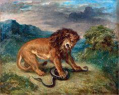 lions delacroix - Szukaj w Google
