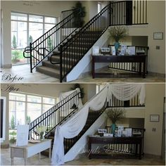 6 errors couples Make while planning A commitment ceremony Wedding Staircase, Wedding Gate, White Staircase, Wedding Ceremony, Indoor Railing, Entrance Gates, Wedding Decorations, Wedding Backdrops, Event Decor