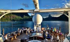 This is the Kind of Cruise for Those Who Don't Think They'll Enjoy Cruising (myself, included!).    Six Things You Should Know About A Windstar Tahiti Cruise