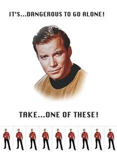 Star Trek. Red Shirt escort service!