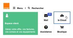 Le Cloud d'Orange (site web) : accéder au service - Assistance Orange