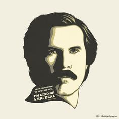 Anchorman on Behance