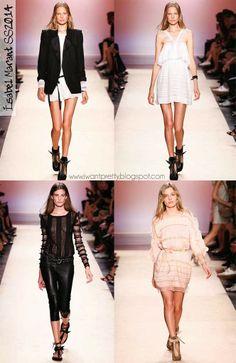 I want pretty: Paris Fashion Week Spring Summer 2014- Primavera-Verano 2014- Isabel Marant.