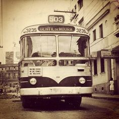 Trolleybus to Gentil de Moura (circa 1960)  Sao Paulo - Brazil