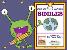 FREE LANGUAGE ARTS LESSON - Out of This World Similes - Go to The Best of Teacher Entrepreneurs for this and hundreds of free lessons.