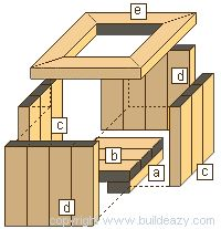 schematic of a planterbox