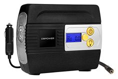 DBPOWER DC Auto Premium Tire Inflator Pump to 100 PSI Portable Air Compressor with Digital Gauge and Light for Cars Trucks BicyclesBasketballs 12V *** You can get additional details at the image link. (This is an affiliate link and I receive a commission for the sales)