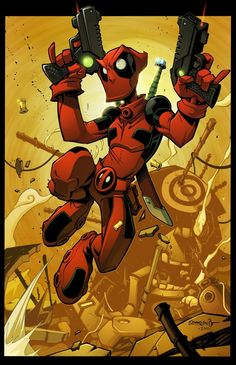 Deadpool, the mercenary, Illustrations [HD] + 50