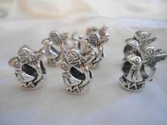 abalorios en forma de pájaro para pulsera europea de jowel por DaWanda.com