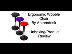 Anthrodesk Ergonomic Wobble Chair Unboxing/Product Review Core Muscles, Product Review, About Me Blog, Chair, News, Artist, Stool, Artists, Chairs