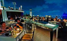 Roof terrace lounge Sirocco, Bangkok