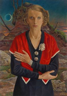 Exhibition: 'Magic Realism: Art in Weimar Germany at the Tate Modern, London Magic Realism, Realism Art, Raoul Hausmann, Tate Modern London, Degenerate Art, New Objectivity, Red Scarves, Art Archive, Figurative Art