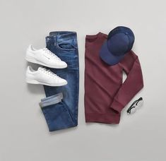 New Style Scandinavian Fashion Ideas Stylish Mens Outfits, Casual Outfits, Men Casual, Stylish Clothes, Casual Chic, Mode Outfits, Fashion Outfits, Fashion Flatlay, Fashion Clothes