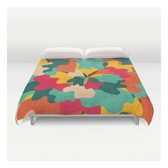 Aloha Camo Duvet Cover ($129) ❤ liked on Polyvore featuring home, bed & bath, bedding, duvet covers, twin xl bedding, king size bedding, microfiber duvet, cream duvet and king bedding