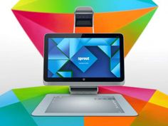 HP Sprout is a PC with a 3D scanner and huge tactile touchpad