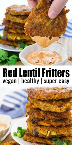 Vegan Dinner Recipes, Whole Food Recipes, Cooking Recipes, Healthy Lentil Recipes, Spicy Vegetarian Recipes, Delicious Vegan Recipes, Kids Vegan Recipes, Recipes For Lentils, Super Food Recipes
