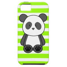 kawii+cats+smart+phone+cases | Kawaii Panda Phone Case - Choose Your Colour! iPhone 5 Case