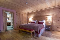 Mont Cervin Palace - Chalet Suite Zermatt, Around The Worlds, Pure Products, Luxury, Bed, Places, Furniture, Home Decor, Traveling