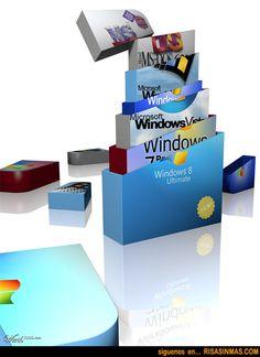 Qué esconde Windows 8 | Risa Sin Más