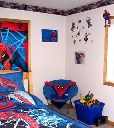 spiderman room | boys bedroom designs | pinterest | spiderman