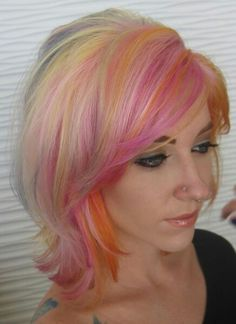 pravana vivid, cute hair cut too