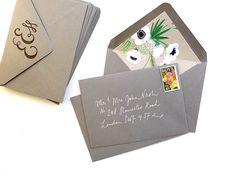 Cómo crear sobres de la boda de fantasía y el sobre Liners   15% Off Berinmade